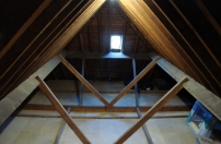 completed loft flooring / boarding