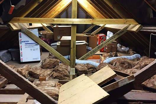 loft job before photo