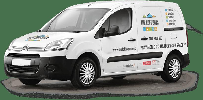 The Loft Boys Van