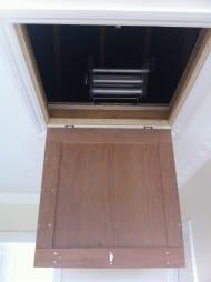 Open loft entrance