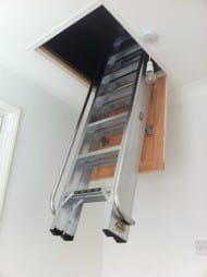 Section deluxe loft ladder 2