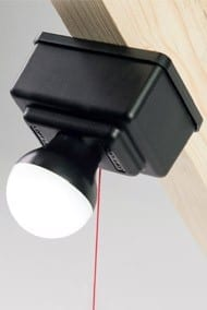 battery powered LED loft light