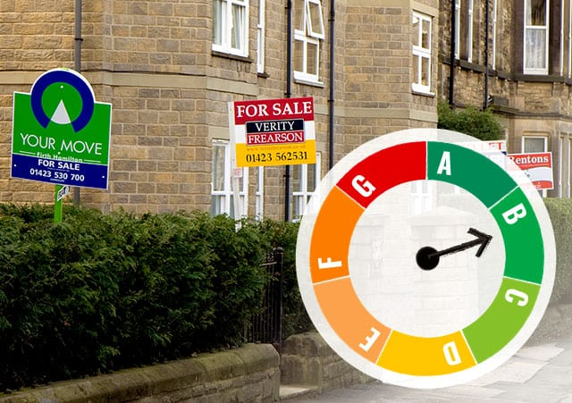 Properties for sale and EPC rating