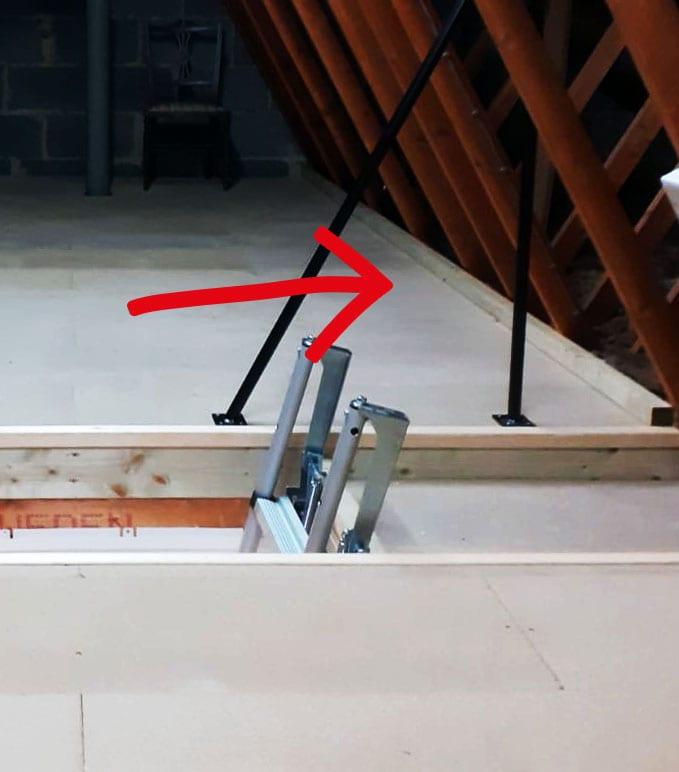 flooring upstand